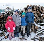 Children's snow boots